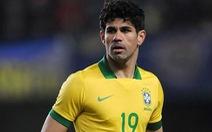 HLV Scolari tiếp tục gọi Diego Costa vào tuyển Brazil