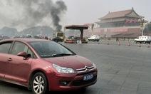 Xe đâm đám đông ở Thiên An Môn, 5 người thiệt mạng