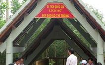 Mở cửa địa đạo Gò Thì Thùng đón du khách