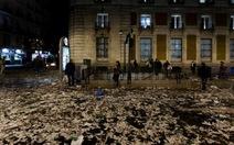 Madrid ngập rác vì công nhân vệ sinh đình công