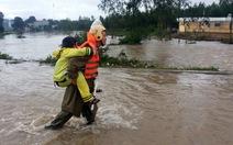 Gia Lai: Mưa lớn chia cắt quốc lộ 19