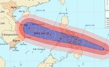 Siêu bão Hải Yến lồng lộn áp sát Philippines