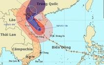 Bão Haiyan sẽ đổ bộ vào các tỉnh từ Thái Bình đến Quảng Ninh