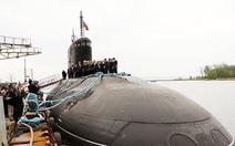 Tàu ngầm Hà Nội lên đường về Cam Ranh