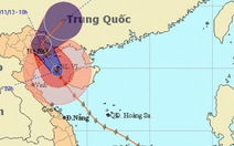3-5g sáng 11-11, bão đổ bộ vào Bãi Cháy, Quảng Ninh