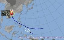 Thêm một áp thấp nhiệt đới hướng về biển Đông