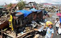 Siêu bão hủy diệt Haiyan quét Philippines như sóng thần