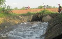 Điều tra công ty nạo vét đổ bùn xuống sông Đồng Nai