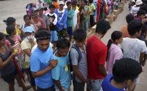 Liên Hiệp Quốc công bố 4.460 người chết do bão Haiyan