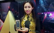 Ngắm iPhone 5S mạ vàng tại triển lãm Vietnam Telecomp 2013