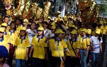 5.000 người đi bộ cổ vũ đoàn thể thao Việt Nam