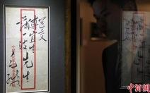 Bì thư của Mao Trạch Đông được bán với giá 1 triệu USD
