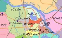 Chính phủ đồng ý Hà Nội tách huyện Từ Liêm thành 2 quận