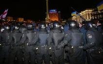 Ukraine lại náo động biểu tình