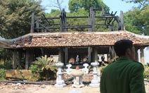 Thanh Hóa: Cháy lớn tại đền thờ Trung túc vương Lê Lai