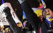 Người biểu tình phong tỏa tòa nhà chính phủ Ukraine