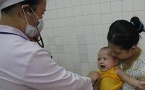 Tiền Giang: số trẻ tiêm vắc xin Quinvaxem giảm