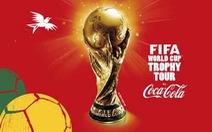Cúp vàng World Cup 2014 đến VN vào ngày 1-1-2014