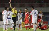 10 cầu thủ U-23 Lào cầm chân U-23 Singapore 1-1