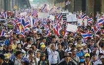 """Biểu tình rung chuyển Bangkok trong """"ngày quyết định"""""""