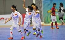 Futsal nữ VN thắng Indonesia 3-1