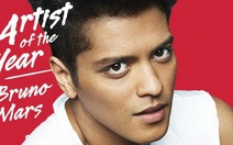 Bruno Mars nhận danh hiệu Nghệ sĩ năm 2013