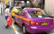Thái Lan chấn chỉnh hoạt động taxi