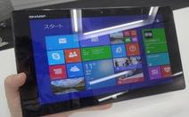 Sharp và Gigabyte trình làng nhiều tablet mới