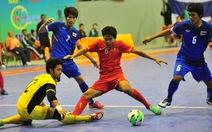 Futsal nam VN thua Thái Lan 1-8