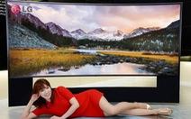 Samsung, LG đua tivi 4K màn hình cong 105-inch