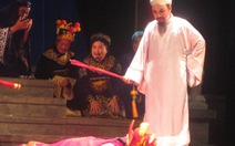 Chu Văn An lên sân khấu cải lương