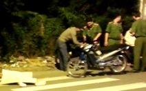 Người đàn ông chết giữa đường sau cuộc rượt đuổi