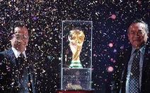 Cúp vàng thế giới 2014 đã đến Việt Nam