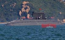 Tàu ngầm Hà Nội hạ thủy an toàn