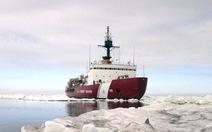 Tàu phá băng Nga, Trung Quốc kẹt chùm, tàu Mỹ xuất quân