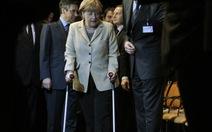 Thủ tướng Đức chấn thương vì trượt tuyết