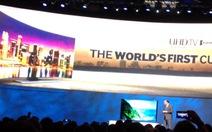 Samsung giới thiệu tivi cong UHD lớn nhất thế giới