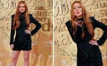 """""""Cô nàng lắm chiêu"""" Lindsay Lohan bị cướp laptop ở Trung Quốc"""