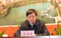 Phó chủ tịch tỉnh bị cách chức vì tham nhũng