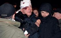 Cựu bộ trưởng Nội vụ Ukraine bị thương trong bạo động
