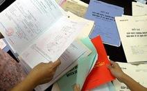 Đề xuất phạt tiền để hợp thức hóa nhà giấy tay