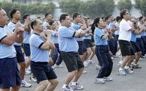 Cảnh sát Philippines phải tập thể dục
