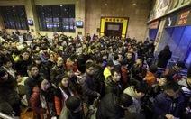 """Trung Quốc: hơn 3,6 tỉ lượt người """"di cư"""" về ăn tết"""