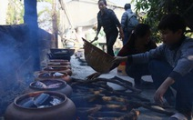 Cá kho làng Vũ Đại vào tết