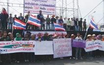 Nông dân biểu tình đòi chính phủ Thái Lan thanh toán tiền gạo
