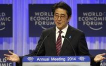 Căng thẳng Nhật - Trung thành tâm điểm tại Davos