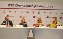 WTA Championship sẽ mang nhiều tính giải trí hơn