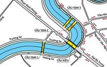 Phân luồng giao thông qua cầu Kiệu