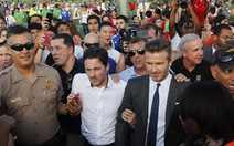 """Beckham đối mặt với """"thử thách thể thao lớn nhất"""""""