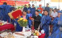 Lễ cầu ngư ra quân đánh bắt tại Lý Sơn
